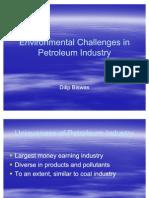 Environmental Challenges in Petroleum Industry