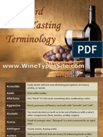 Standard Wine Tasting Terminology