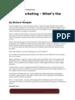 Sports Marketing - What's the Fuss - Richard Wanjohi - KE