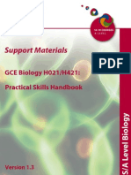 Ocr 32336 Sm Gce Pract Skills Hb