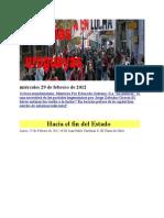 Noticias uruguayas miércoles 29 de febrero de 2012