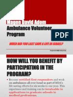 MDA Volunteering