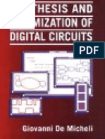 Synthesis and Optimization of Digital Circuits_c Glovanni de Micheli