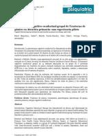 Estudios sobre Ataques de Pánico - Murcia 2012