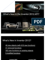 Inventor 2012 New API