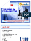 CM101-1T#Web Technology Fundamentals