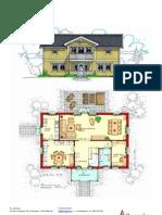 Hus i två plan