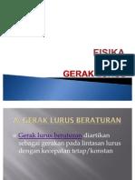 GERAK LURUS