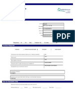 Social Care Application Form