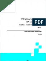 HP Unix Server Routine MaintenanceWork_R1.0