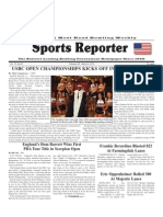 February 29, 2012  Sports Reporter