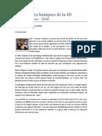 Les 3 pièges basiques de la 4D - Laurent Dureau - 5D6D - 27 février 2012