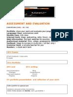 Assessment&Evaluation
