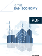 Microsoft Fuelling the European economy brochure