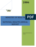 National Health Report 2006