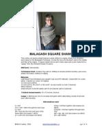 Malagash Square Shawl-1