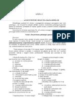 Anexa 2_Teste Psihologice Pentru Selectia Managerilor