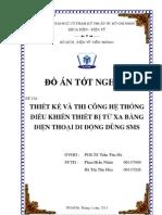 DATN_Dieu Khien Thiet Bi Tu Xa Bang Dtdd Dung Sms