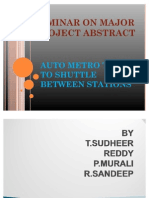 Major Project Abstract Ppt