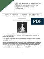 Petrus Romanus Update