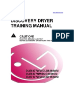 LG Dryer DLE DLG Training Manual