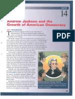 Ch. 14 - Andrew Jackson