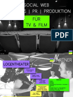 Social Web Marketing | PR | Produktion für TV & Film