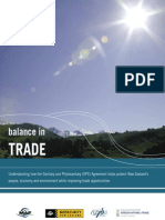 Balance in Trade