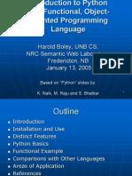 Python Intro