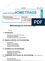 Document Fomation Oim Methodologie Chronometrage