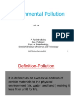 Environmental Pollution and Control -4