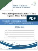 Prueba Diagnostico Estudios Sociales Segundo to