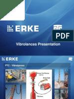 ERKE Group, PTC Vibrolance Presentation