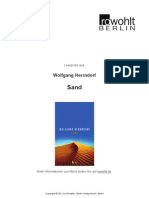 Wolfgang Herrndorf Sand