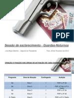 Concurso de admissão de Guardas-Nocturnos na cidade de Faro