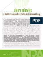 douleurs animales