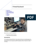 Final Report on Virtual Keyboard.