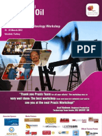 6th Annual Global Improved Oil Recovery Praxis Interactive Technology Workshop - Brochure