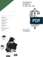 Participatory Budgeting Handbook