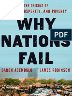 Why Nations Fail by Daron Acemoglu and James Robinson - Excerpt