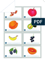 Fruits Picture Flashcards by Learnwell Oy