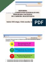 Lineamientos de Carrera Magisterial 2011_2