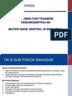 Kelembagaan Dan Organisasi Bank Sentral