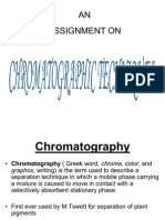 Chromatographic Techniques