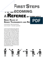 The First Steps to Becoming a Referee (by Terry Holt)- Kendo World Journal 3.3 (2006)