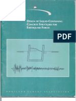 Libro Design of Liquid-containing Concrete Structures for Earthquake Forces