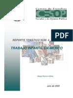 Trabajo Infantil en Mexico