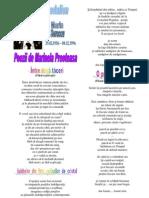 MEDALION Omagial Pentru Marin Sorescu Poezii de Marinela Preoteasa