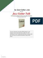 Jazz Guitar Talk
