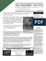 International Solidarity Bulletin 1